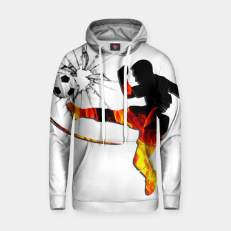 Thumbnail image of Fire and passion that break barriers Hoodie, Live Heroes