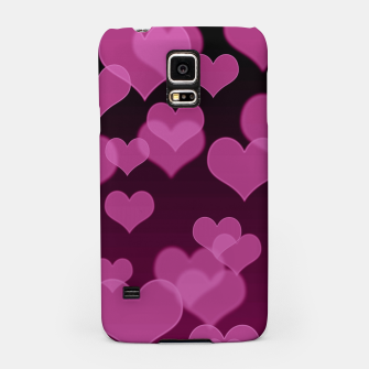 Thumbnail image of Pale Pink Hearts Design Samsung Case, Live Heroes