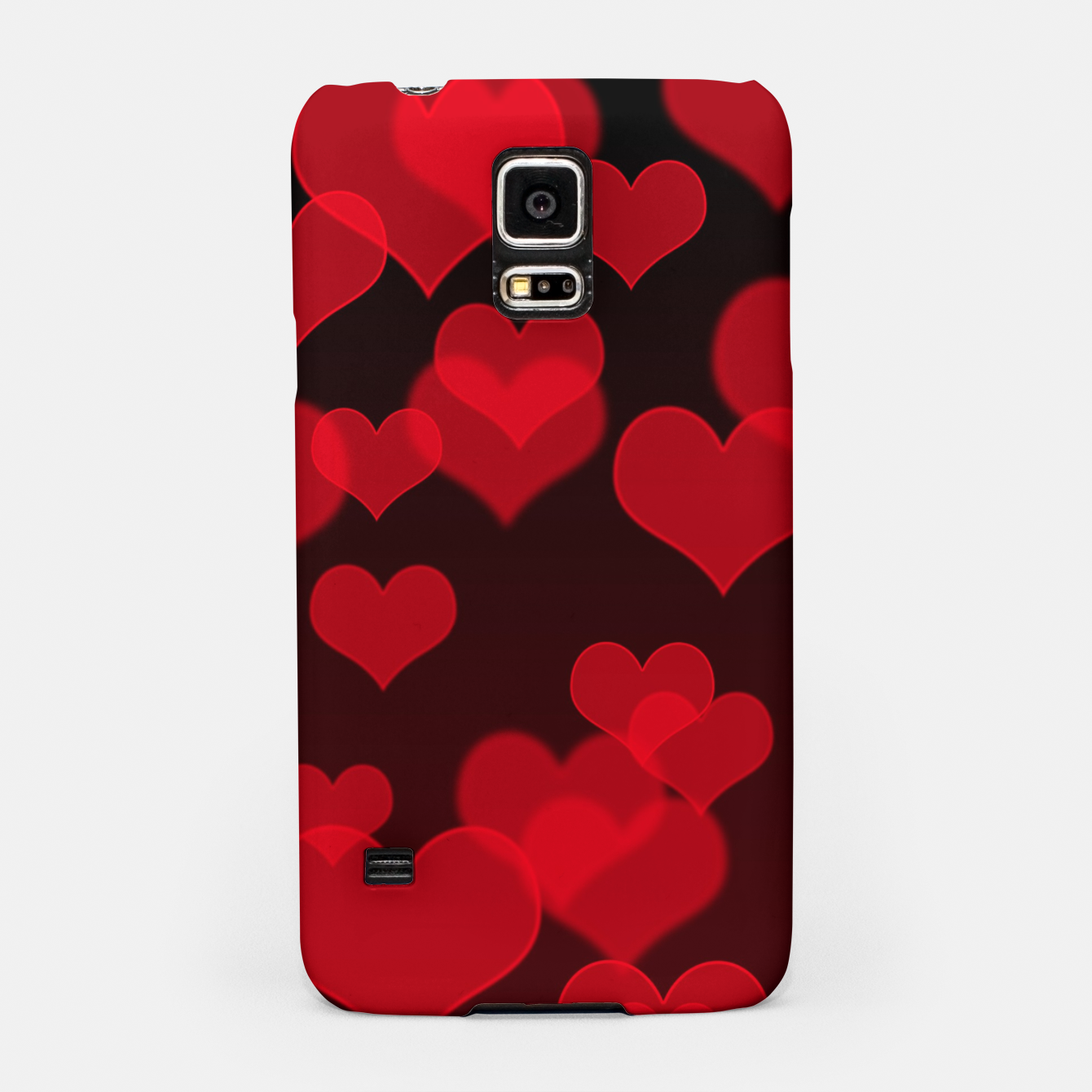 Image of Red Hearts Design Samsung Case - Live Heroes