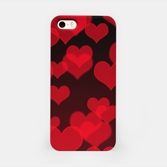 Thumbnail image of Red Hearts Design iPhone Case, Live Heroes