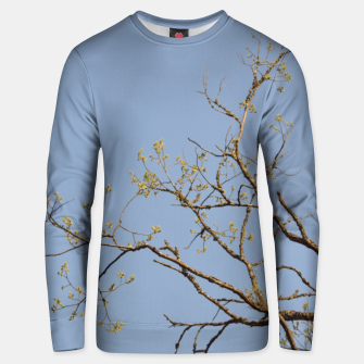Miniatur Spring branches Unisex sweater, Live Heroes