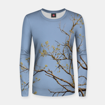 Miniatur Spring branches Women sweater, Live Heroes
