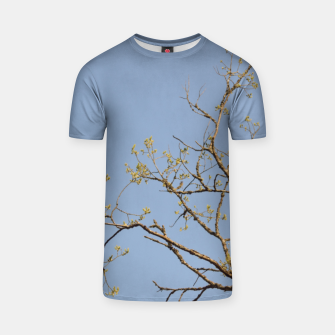 Miniatur Spring branches T-shirt, Live Heroes