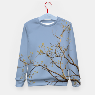 Miniatur Spring branches Kid's sweater, Live Heroes