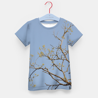 Miniatur Spring branches Kid's t-shirt, Live Heroes