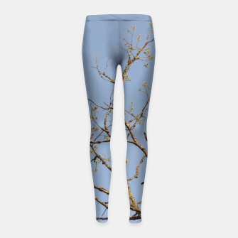 Miniatur Spring branches Girl's leggings, Live Heroes