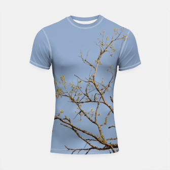Miniatur Spring branches Shortsleeve rashguard, Live Heroes