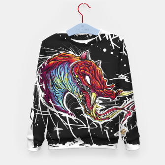 Thumbnail image of Snakegcat Kid's sweater, Live Heroes
