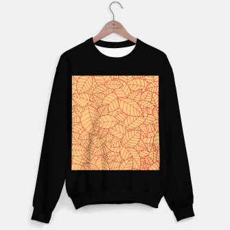 Thumbnail image of Red Leaves Pattern Sweater regular, Live Heroes