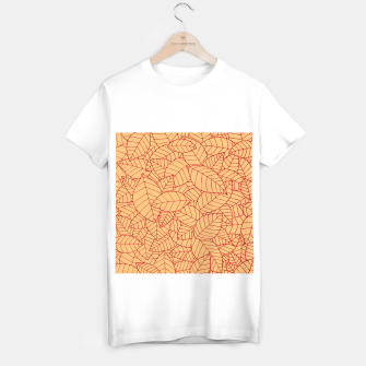 Thumbnail image of Red Leaves Pattern T-shirt regular, Live Heroes