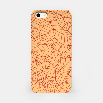 Thumbnail image of Red Leaves Pattern iPhone Case, Live Heroes