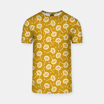 Thumbnail image of Floral Fan | Daisy Flowers Pattern Design T-shirt, Live Heroes