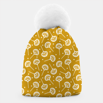 Thumbnail image of Floral Fan | Daisy Flowers Pattern Design Beanie, Live Heroes