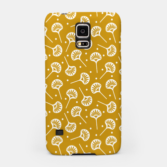 Thumbnail image of Floral Fan | Daisy Flowers Pattern Design Samsung Case, Live Heroes