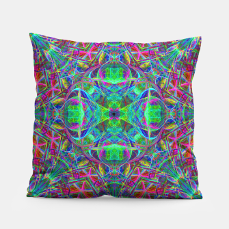 Thumbnail image of Psychedelic Star Pillow, Live Heroes