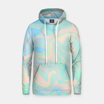 Thumbnail image of Liquid faux holographic iridescent texture Hoodie, Live Heroes