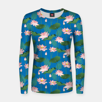 Thumbnail image of Lotus Love Women sweater, Live Heroes