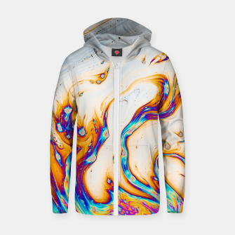 Thumbnail image of Marble & Fire Zip up hoodie, Live Heroes