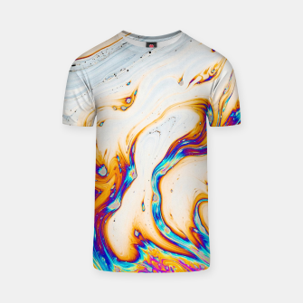 Thumbnail image of Marble & Fire T-shirt, Live Heroes