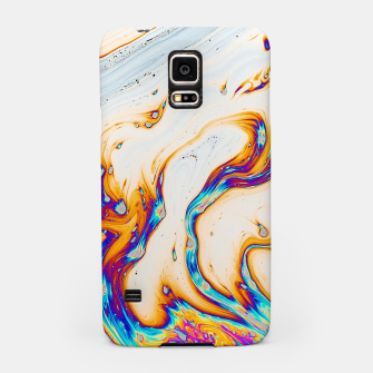 Thumbnail image of Marble & Fire Samsung Case, Live Heroes