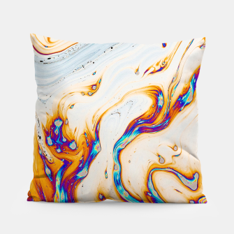 Thumbnail image of Marble & Fire Pillow, Live Heroes