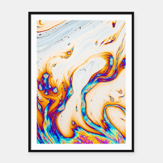 Thumbnail image of Marble & Fire Framed poster, Live Heroes