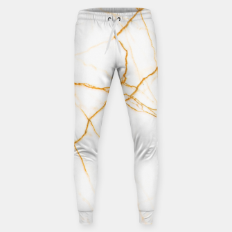 Thumbnail image of Gold and Marble Sweatpants, Live Heroes