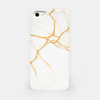 Thumbnail image of Gold and Marble iPhone Case, Live Heroes