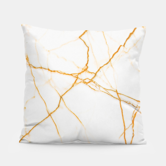 Thumbnail image of Gold and Marble Pillow, Live Heroes