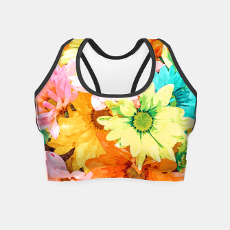 Thumbnail image of Simone Crop Top, Live Heroes