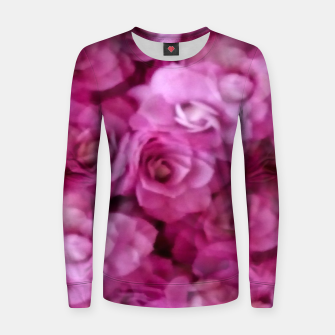 Miniaturka happy florals  giving  peace and great feelings Women sweater, Live Heroes