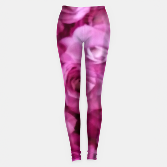 Thumbnail image of happy florals  giving  peace and great feelings Leggings, Live Heroes