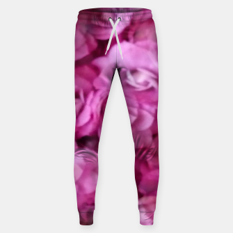 Thumbnail image of happy florals  giving  peace and great feelings Sweatpants, Live Heroes