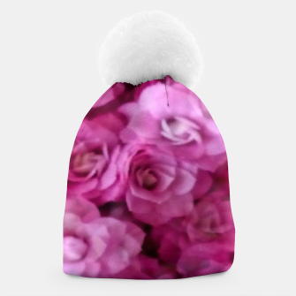 Thumbnail image of happy florals  giving  peace and great feelings Beanie, Live Heroes