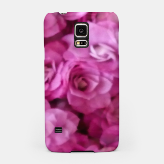 Thumbnail image of happy florals  giving  peace and great feelings Samsung Case, Live Heroes