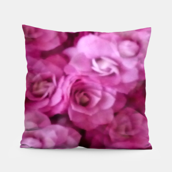Thumbnail image of happy florals  giving  peace and great feelings Pillow, Live Heroes