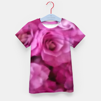 Thumbnail image of happy florals  giving  peace and great feelings Kid's t-shirt, Live Heroes