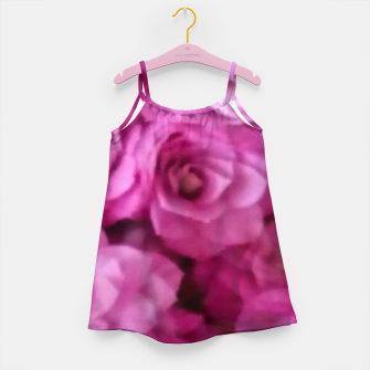 Thumbnail image of happy florals  giving  peace and great feelings Girl's dress, Live Heroes