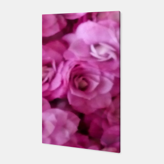 Thumbnail image of happy florals  giving  peace and great feelings Canvas, Live Heroes
