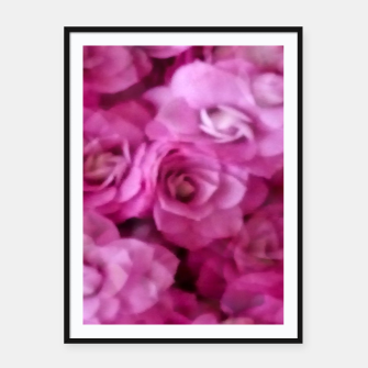 Thumbnail image of happy florals  giving  peace and great feelings Framed poster, Live Heroes