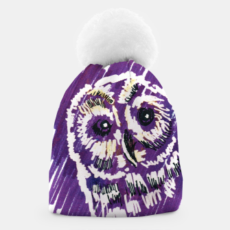 Thumbnail image of owl beanie, Live Heroes