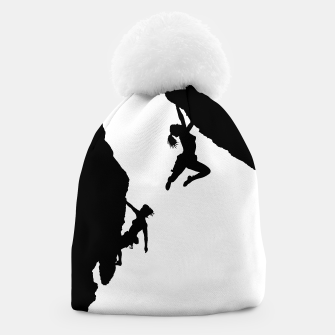 Thumbnail image of women rock climbing beanie, Live Heroes