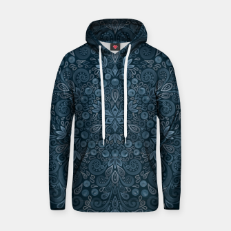 Miniature de image de Blueberry Field Watercolor Pattern Hoodie, Live Heroes