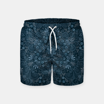 Miniature de image de Blueberry Field Watercolor Pattern Swim Shorts, Live Heroes