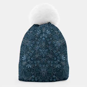Miniature de image de Blueberry Field Watercolor Pattern Beanie, Live Heroes
