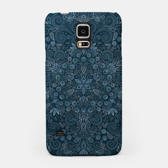 Miniature de image de Blueberry Field Watercolor Pattern Samsung Case, Live Heroes