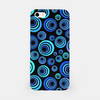 Thumbnail image of Blue Retro Pattern iPhone Case, Live Heroes