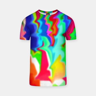 Thumbnail image of  Boomba Swirl Multi-Color T-shirt, Live Heroes