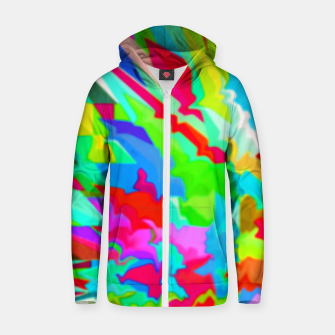 Thumbnail image of Boomba Swirl Multi-Color Zip-up Hoodie, Live Heroes
