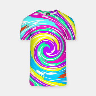 Thumbnail image of Boomba Spiral Purple T-shirt, Live Heroes
